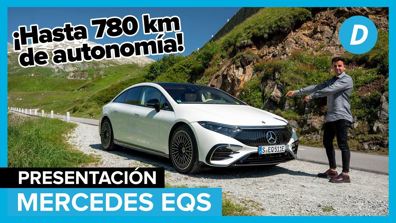 Mercedes EQS 2022: El ELÉCTRICO más AVANZADO del mundo | Prueba | Diariomotor