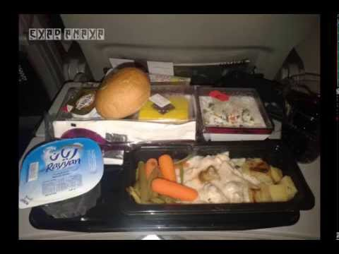 Meals On Qatar Airways Youtube