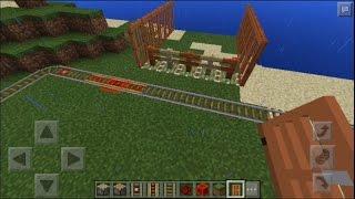 Minecraft: Palang kereta otomatis
