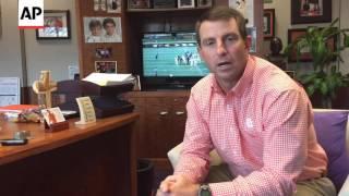 Clemson coach Dabo Swinney Talks football and faith