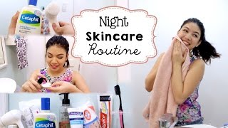 Night Skincare Routine ft. Olay ProX Cleansing System (Perfect for beginners!)