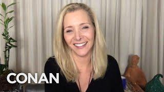 Lisa Kudrow Was Prepared For The Coronavirus Pandemic - CONAN on TBS