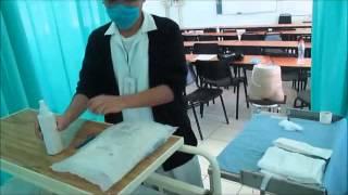 Tecnica de dialisis peritoneal 1°etapa,preparacion