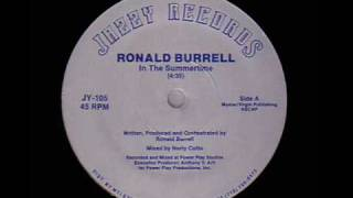 Ronald Burrell - In The Summertime