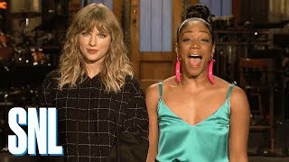 tiffany haddish is on taylor swifts new album snl