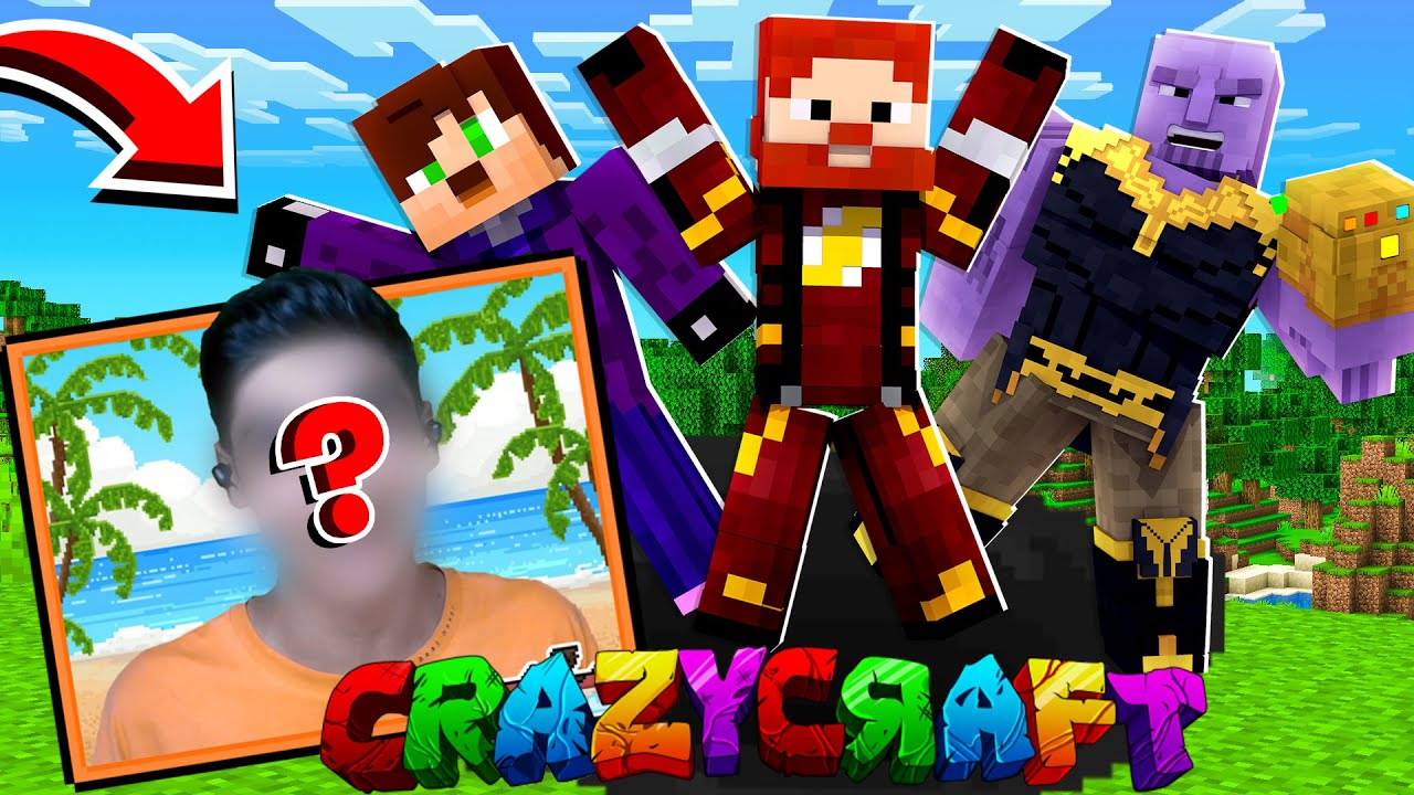 Emad Naghi'nin Yüzü #7 Minecraft Crazy Craft 2