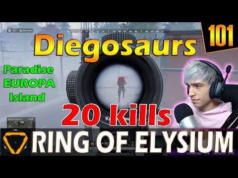 Diegosaurs | 22 kills | ROE (Ring of Elysium) | G101