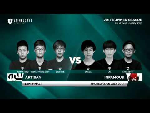 Artisan Vs Infamous • Southeast Asia • Summer Split 1, Week 2 • Semi Final One
