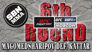 UFC Moscow | Zabit DEF. Kattar | The 6th Round SBN MMA Post-Fight Show