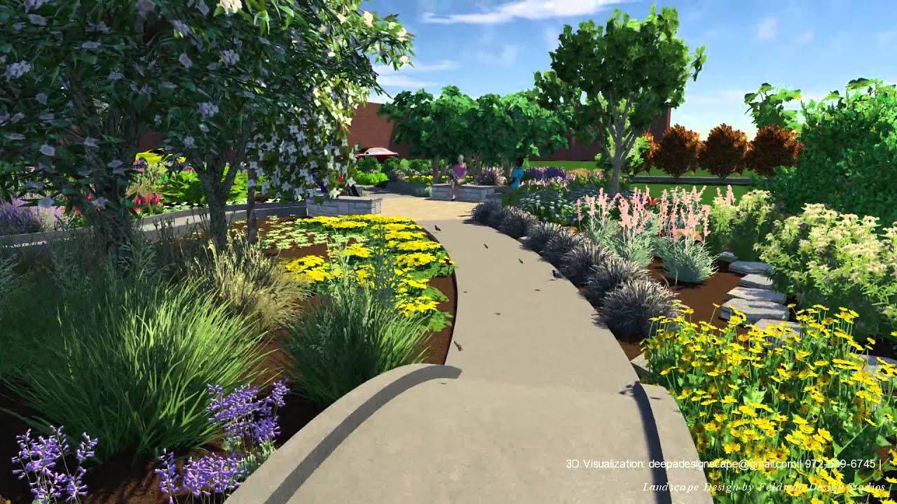 Charmant TWU Butterfly Garden: 3D Visualization   YouTube