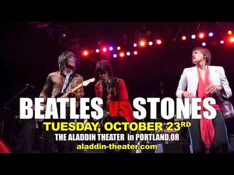Beatles vs. Stones at the Aladdin Theater Portland