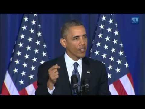 Obama's Full Speech On Drones & Terrorism