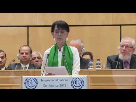 Myanmar needs democracy-friendly development growth, says Aung San Suu Kyi