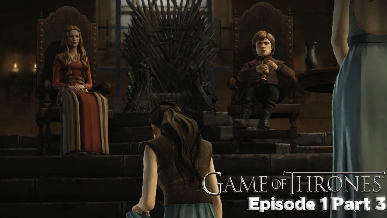 Games Of Thrones Ep1 P3 Mira Forrester Youtube