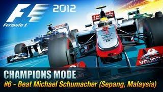 F1 2012 - Champions Mode - #6 Michael Schumacher [Xbox 360 / PS3 / PC]