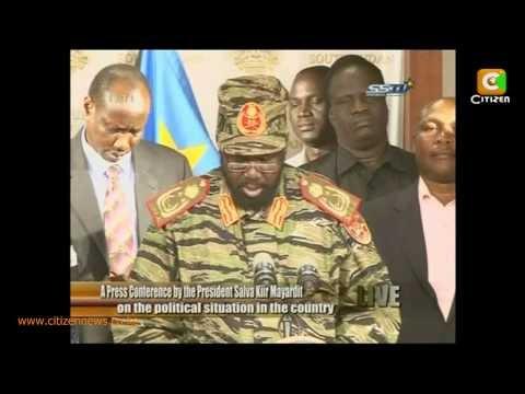 South Sudan Unrest