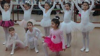 Ани - открит урок по балет -  март 2016 г. - видео