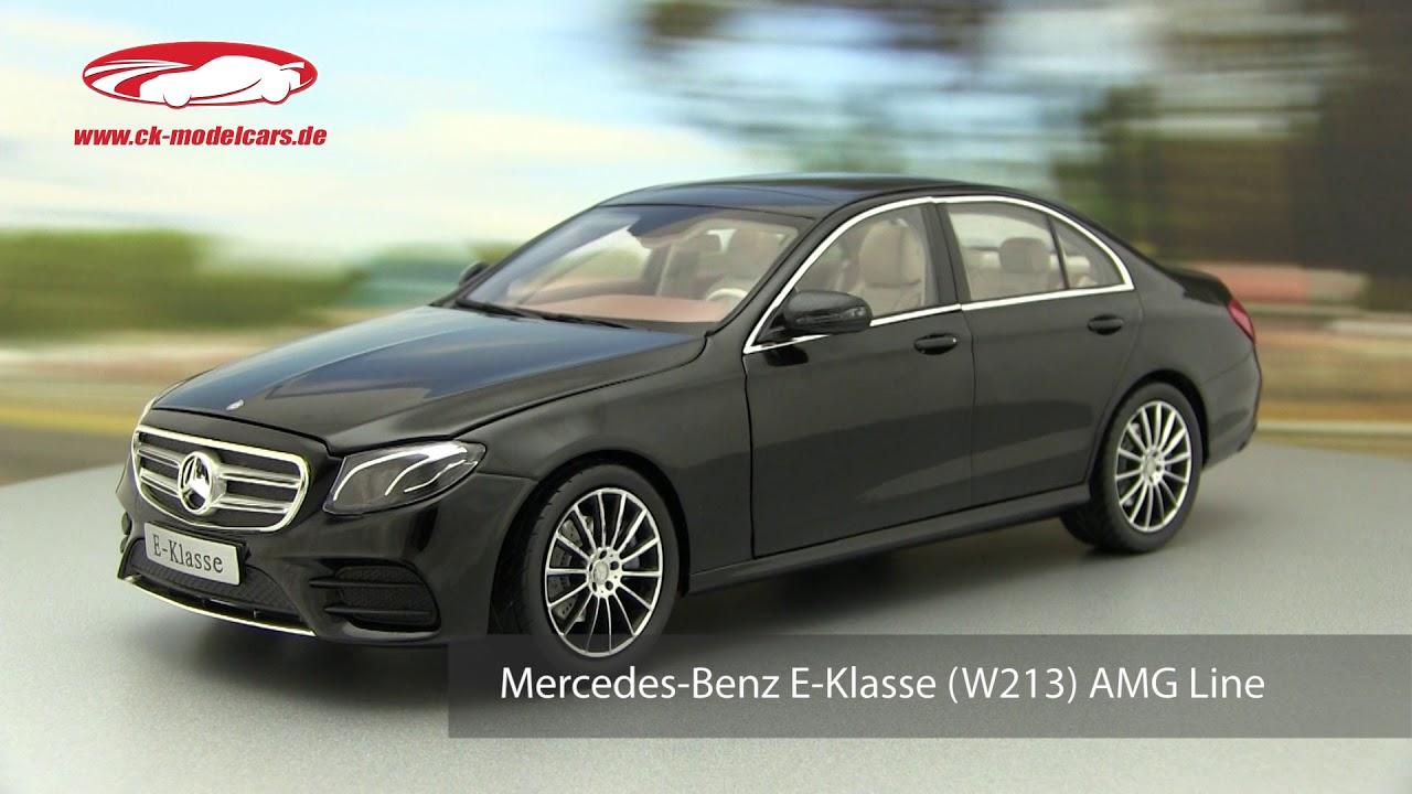iScale 1:18 Mercedes-Benz E-Class (W213) AMG Line obsidian black