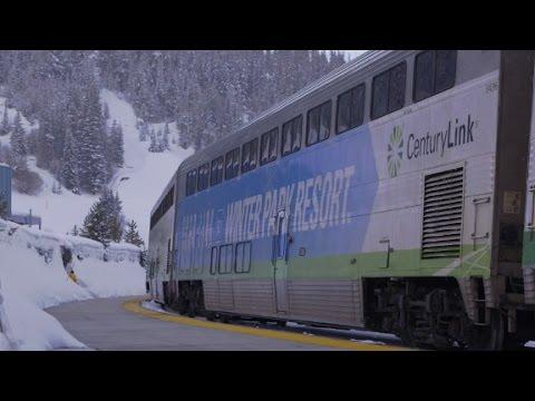 29 tunnels. 9,000-feet high: America's only ski train