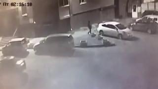 Поджог автомобиля в Иркутске