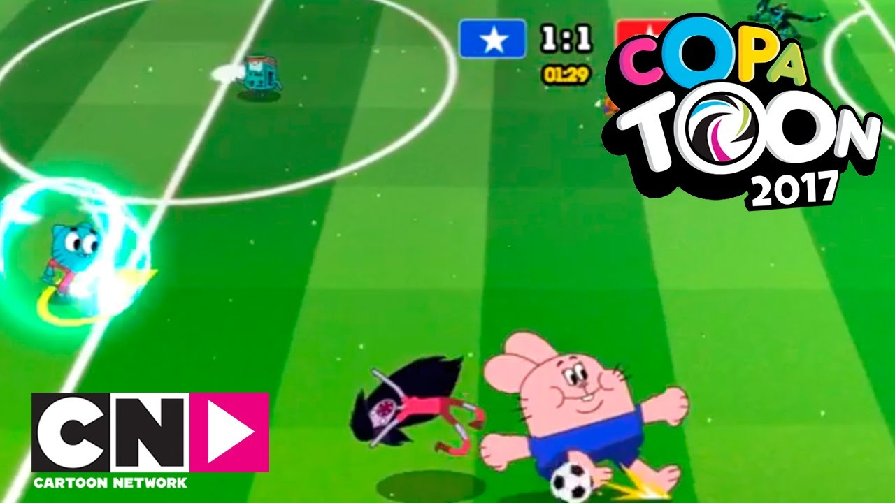 Toon Cup 2017 Juegos Cartoon Network Youtube