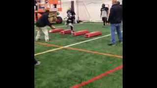 Atunrase Arena Football League Workout