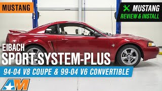 1994-2004 Mustang Eibach Sport-System-Plus Review & Install