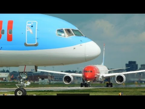 Spotting at London Gatwick Airport 22/04/2017! *737, 747, 757, 767, 777, 787, A320, A330, A380*