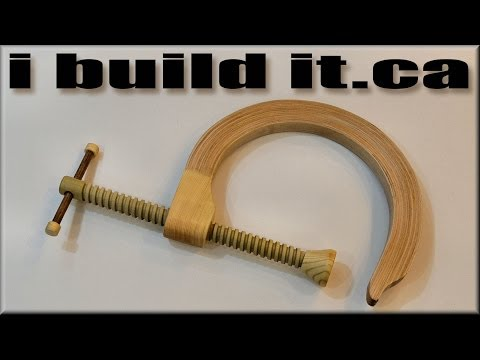 How To Make A Wooden C Clamp