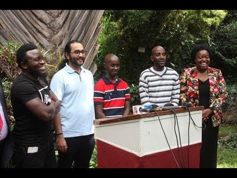 Kenya's South Sudan four re-united with families after Uhuru, Salva Kiir talks