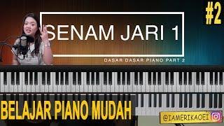 Download lagu SENAM JARI WAJIB UNTUK PEMULA | BELAJAR PIANO INDONESIA