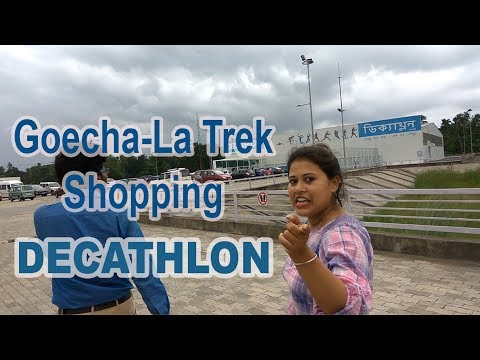 What To Buy For Trekking ? Buying Trekking Gear From Decathlon For Goechala-trek India Bengali 2018