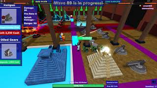 Carrying 15 lvl | ROBLOX | Cube defense