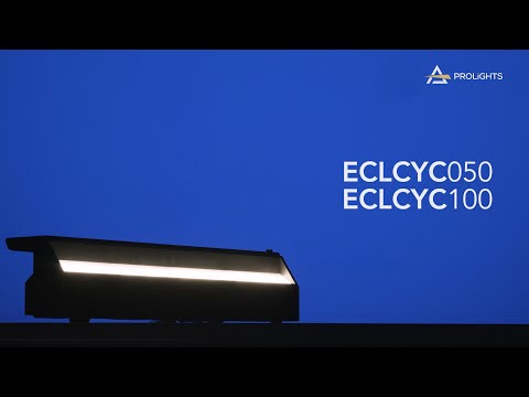 PROLIGHTS EclCYC 100 & 050: the linear soft workhorses