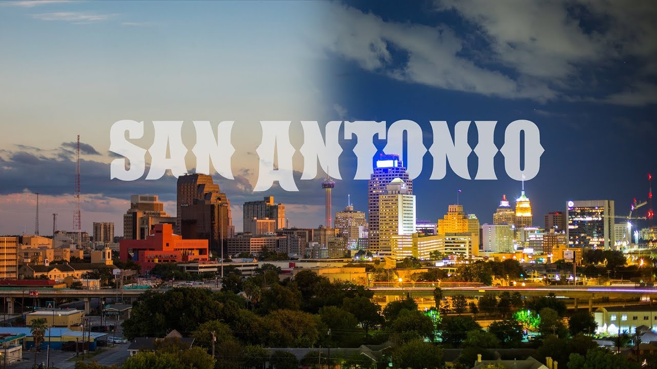San Antonio Timelapse 5k Youtube