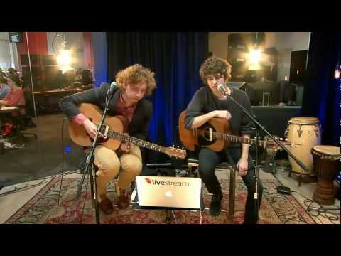 The Kooks - Junk Of The Heart (HD)  Livestream Sessions 2012