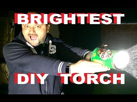 DuB-EnG: Brightest Torch PT2 DIY FlashLight with CREE LED Cheap 50Watt PoWeR LUMENS!  Compare XHP50