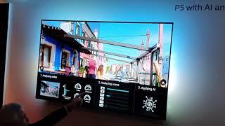 Así funciona la IA del procesador de imagen P5 de cuarta generación de los televisores Philips OLED