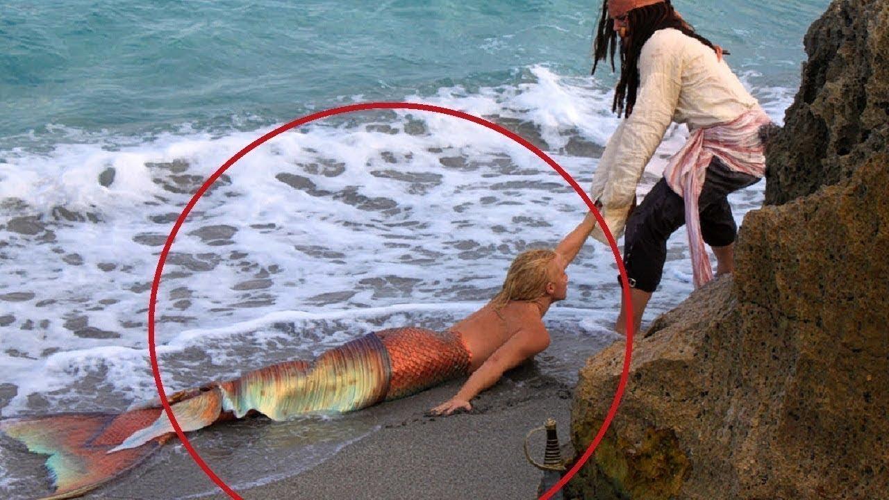 شاهد ظهور حورية البحر على الشاطئ ولكن ما فعلته كان صادم للغايه فماذا فعلت Youtube