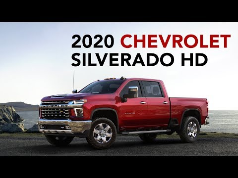 2020 Chevrolet Silverado HD towing technology