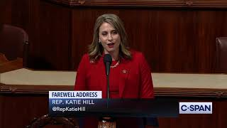 Rep. Katie Hill Farewell Speech