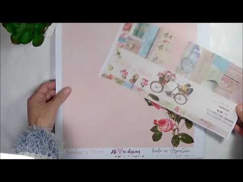 Nueva Coleccion de Papeles para Scrapbooking! Made in ARGENTINA
