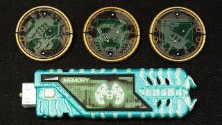 仮面ライダー×仮面ライダー オーズ&ダブル MOVIE大戦CORE オーメダルセットEX Kamen Rider OOO &W O-medal set EX