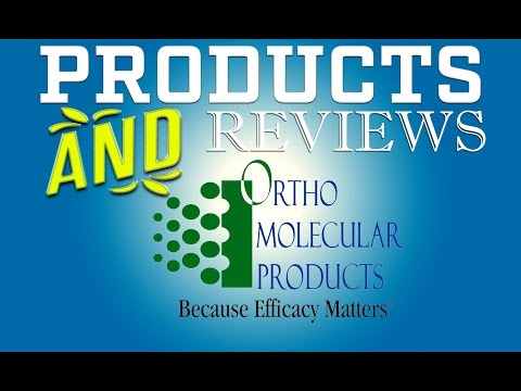 Ortho Molecular Pharmaceutical Grade, Science Based Nutritional Supplements