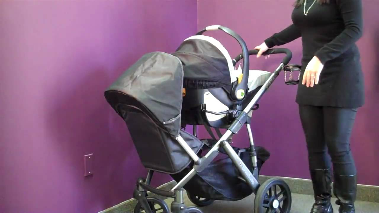 UPPAbaby Vista Stroller w/ Rumble Seat - YouTube