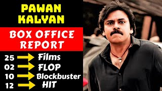 Pawan Kalyan Hit And Flop Movies List With Box Office Collection Analysis