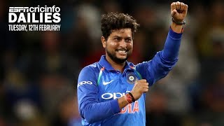 Kuldeep Yadav jumps to second in T20I rankings   Daily Cricket News