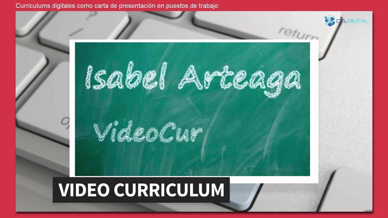 Currículums digitales como carta de presentación en puestos de ...