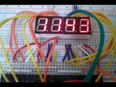 4026 IC 9999 Counter
