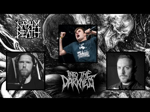 1 hour and 48 minutes with Barney Greenway of Napalm Death | INTO THE DARKNESS Interview